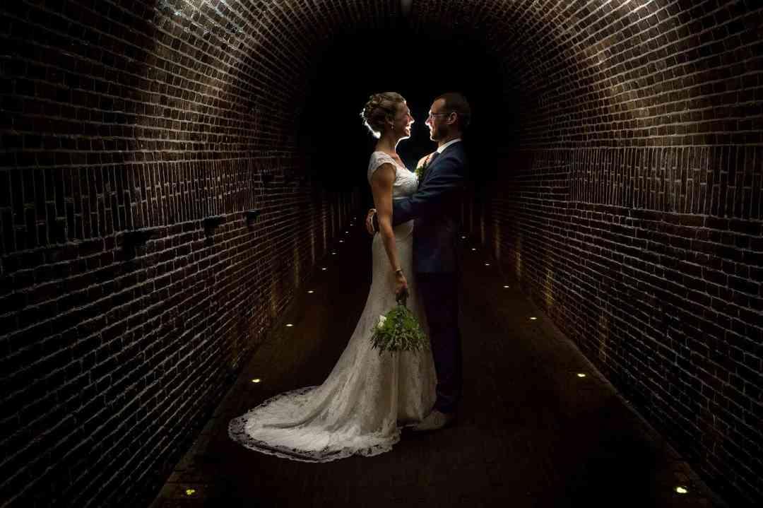 bruidspaar trouwfoto