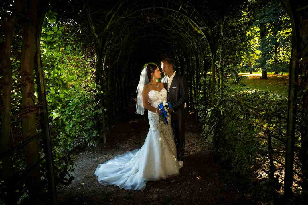 mooiste trouwfoto bruidspaar