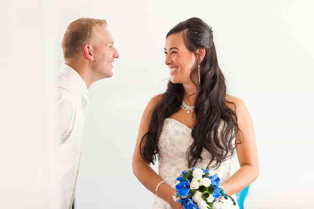 familiefoto's bruiloft