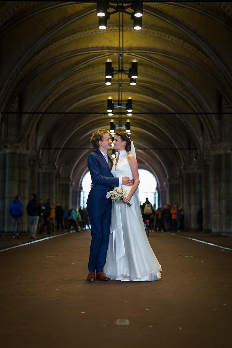 bruidsreportage Rijksmuseum