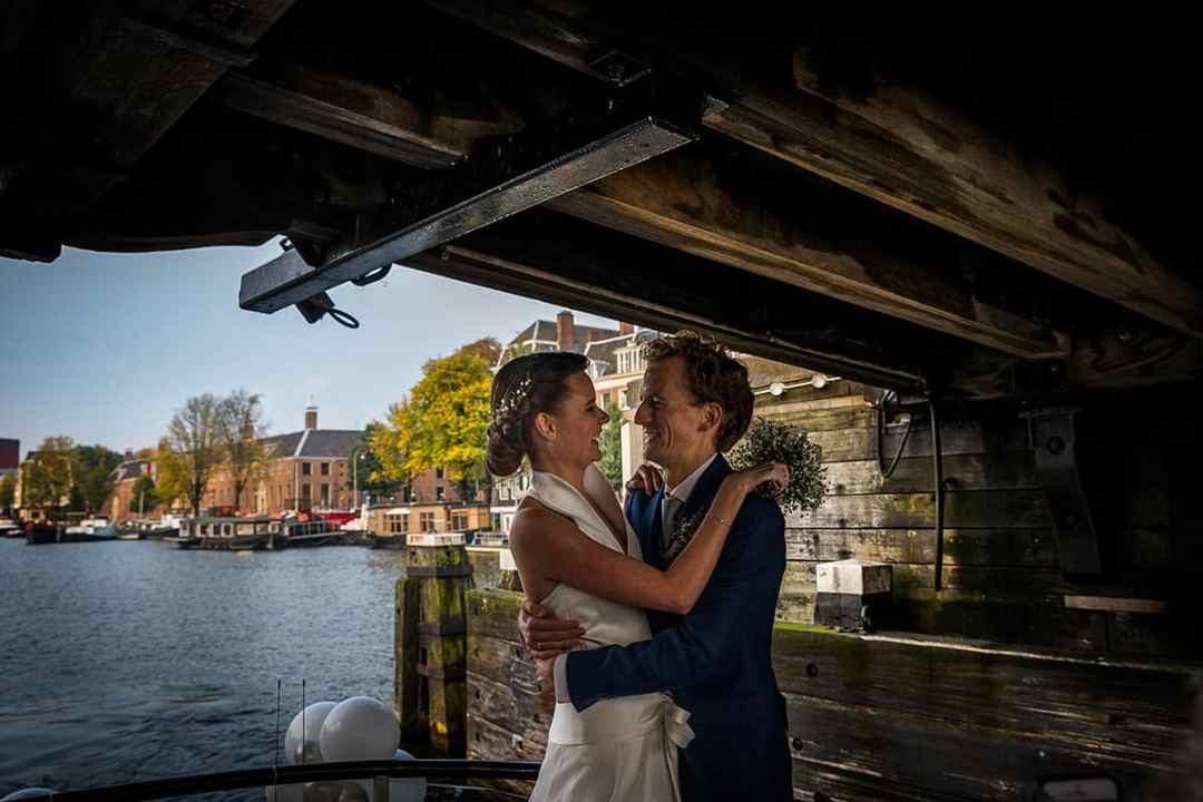 trouwfoto Amstel