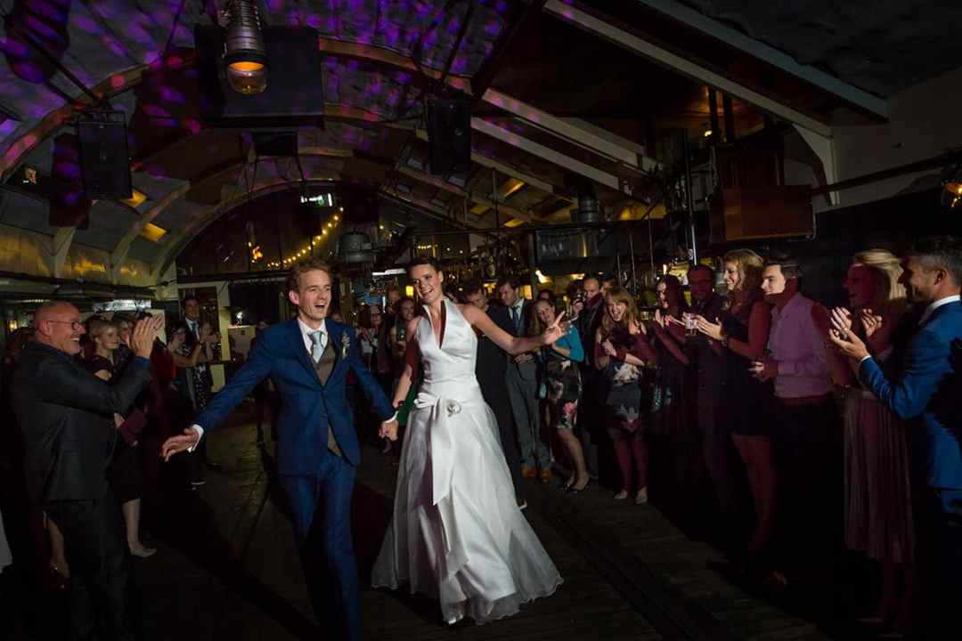 trouwfoto 1e dans
