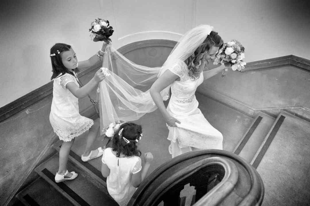 voorbereiding trouwdag spiegel