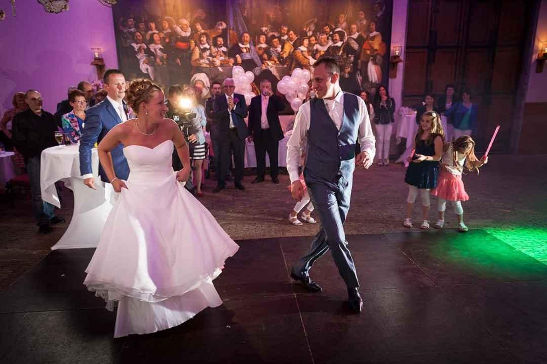 bruidsfotografie feest trouwdag