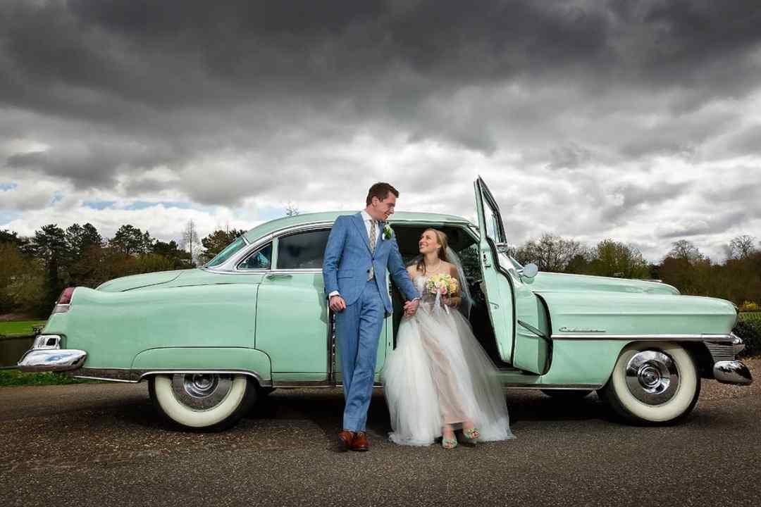 fotosessie bruid & bruidegom trouwdag