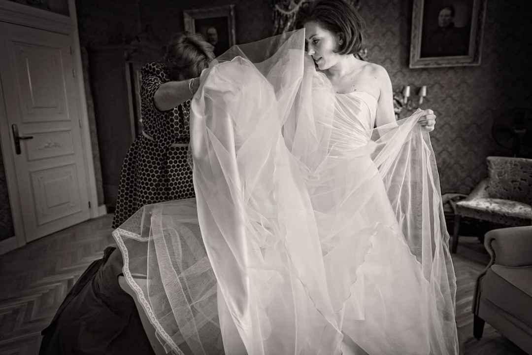 voorbereiding trouwdag bruid