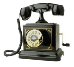 vintage phone contact
