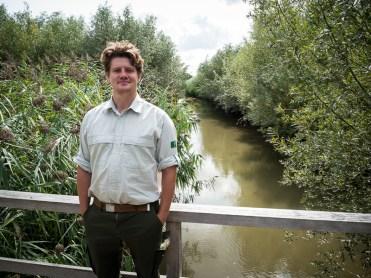 Jasper Louman, de boswachter van de Rhoonse en Carnisse Grienden