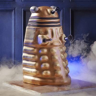 How to Make a Dalek Cake
