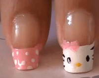 3D nail art ideas