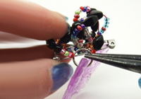 indie crafts - plastic and beaded brooches