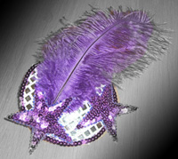 cheap burlesque costumes - how to make your own fascinator