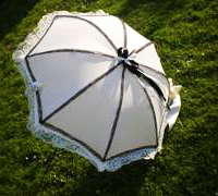 How to make a Gothic Lolita parasol - DIY fashion tutorial
