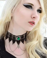 Lucretia gothic choker