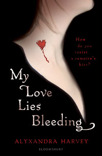 Vampire novels - My love lies bleeding