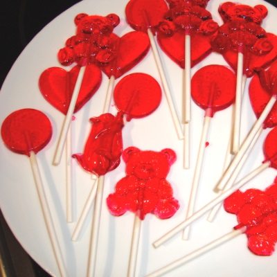 vegan DIY homemade lollipops recipe