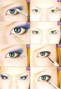 Visual Kei make up