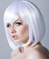 how to dye hair white blonde