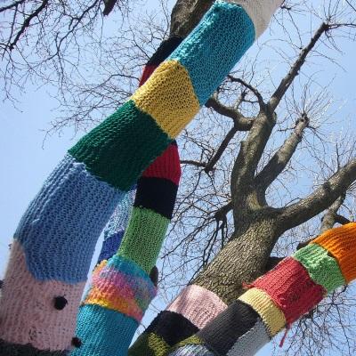 yarnbombing