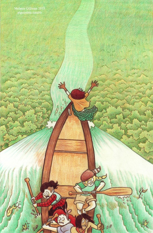 lgbt webcomics Melanie Gillman lumberjanes