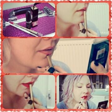 how to do red lips for a perfect vintage pout