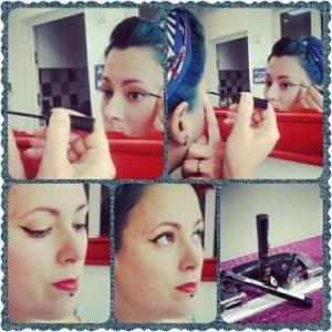 vintage eyeliner tutorial perfect cat eye makeup