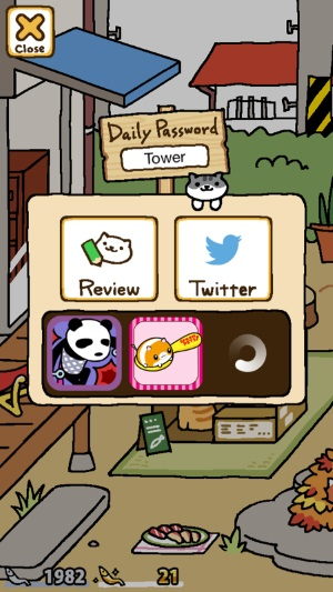 neko atsume daily password