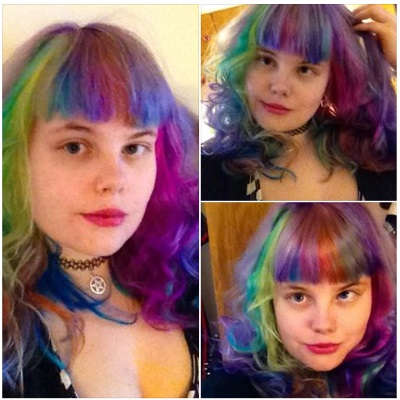 How to make rainbow hair dye last diy rainbow dye guide rainbow hair solutioingenieria
