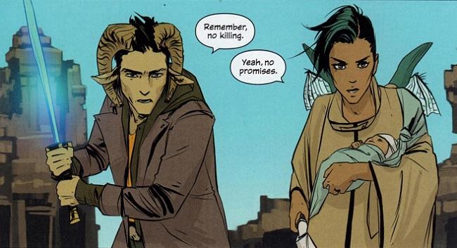 Saga cool comic reasons