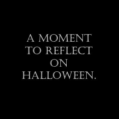 Halloween reflection main image