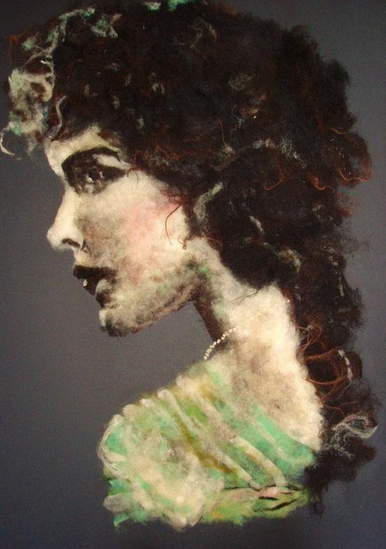 Wool Art Mary
