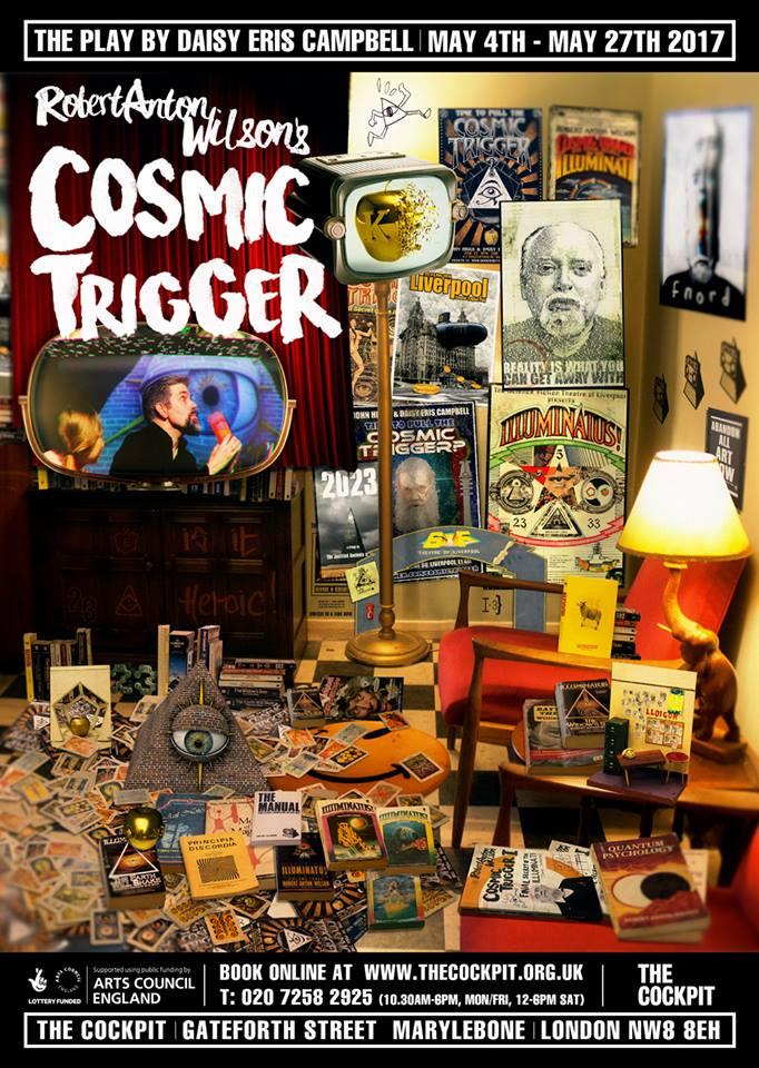 cosmic trigger poster