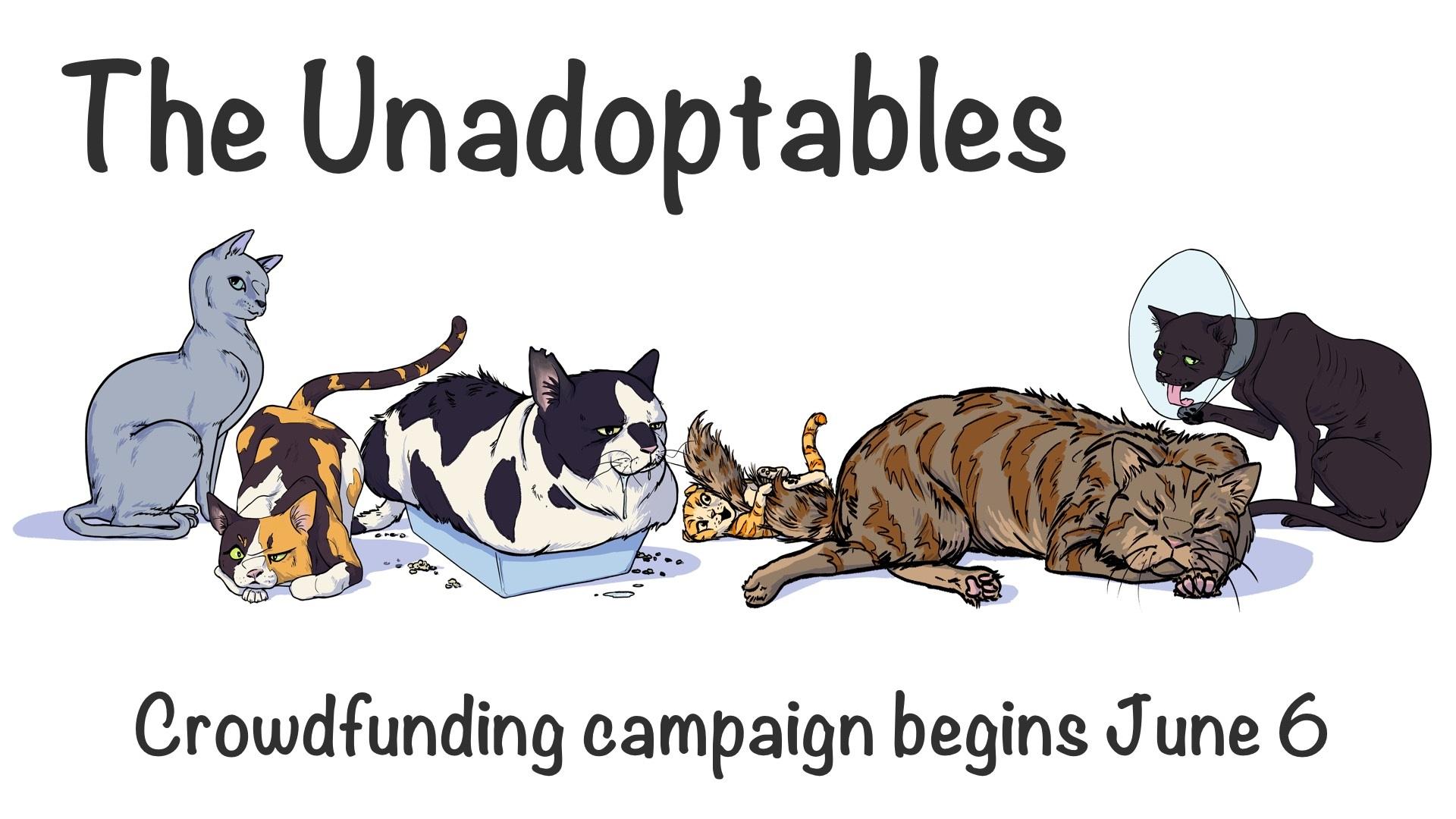 unadoptables web comic cats