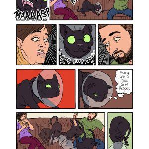 Unadoptables comic sample page