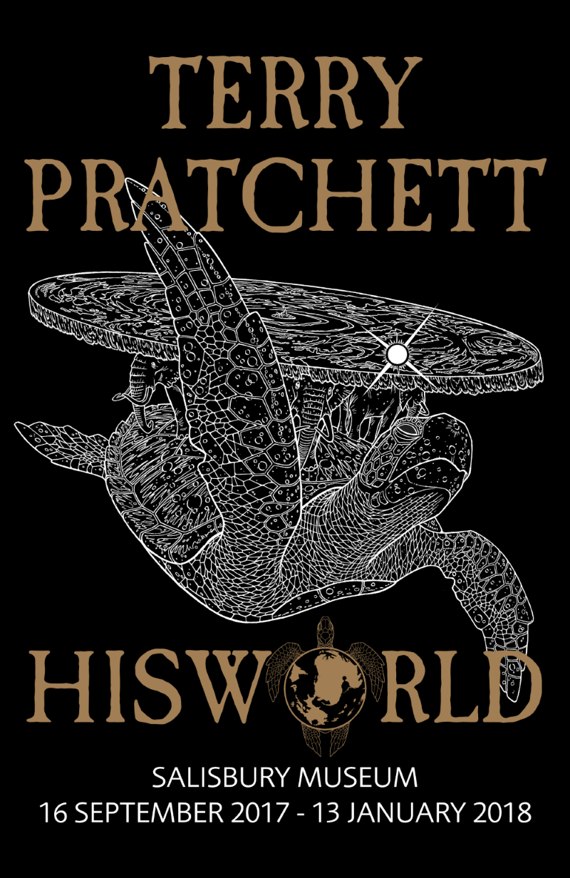 Terry Pratchett HisWorld Exhibition