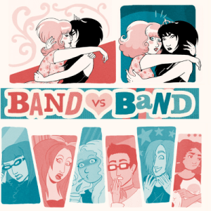 band vs band webcomix