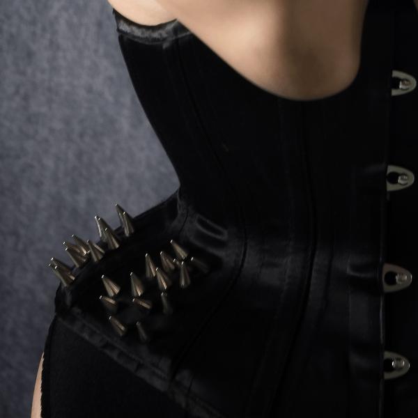 Kitty O'Hara corset detail