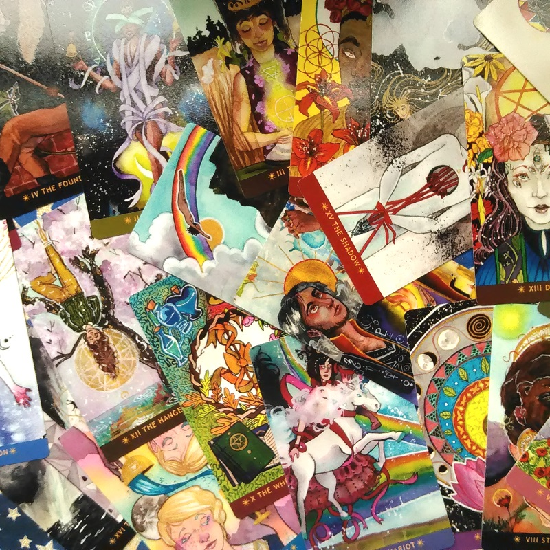 How To Make Your Own Diy Tarot Deck Advice From Indie Creators