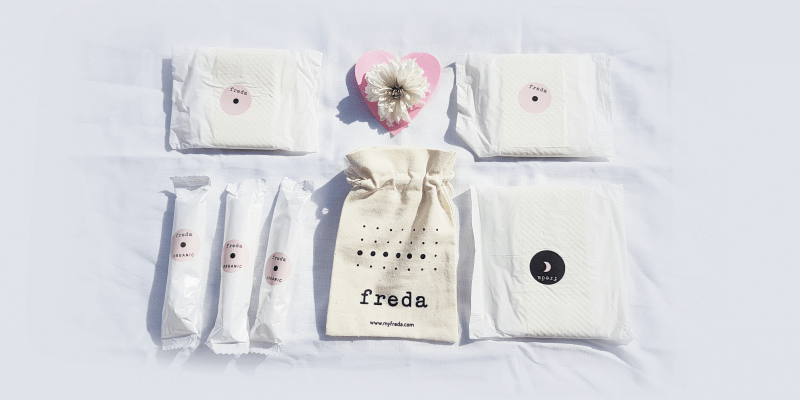 freda organic period care review