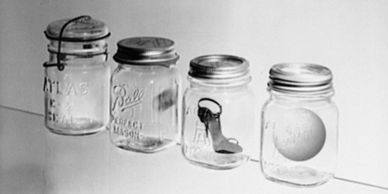 glass jar poetry