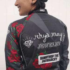 women cyclists rhys may