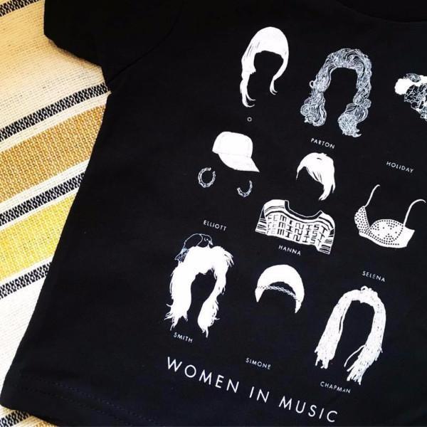 feminist tshirt women in music