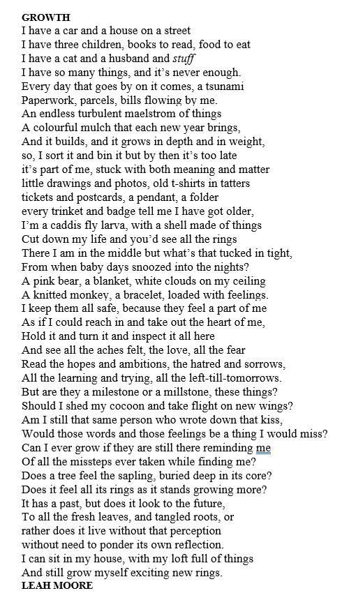 growth poem leah moore