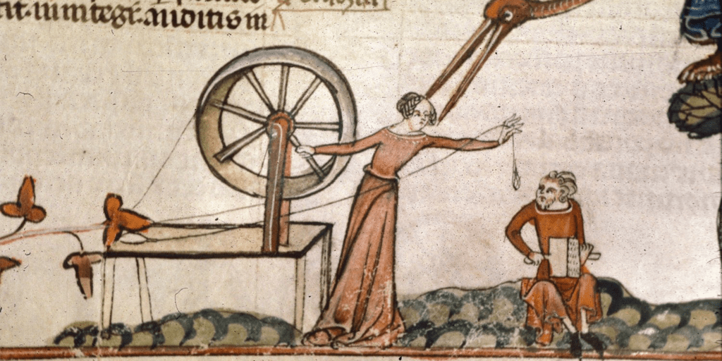 middle ages spinster