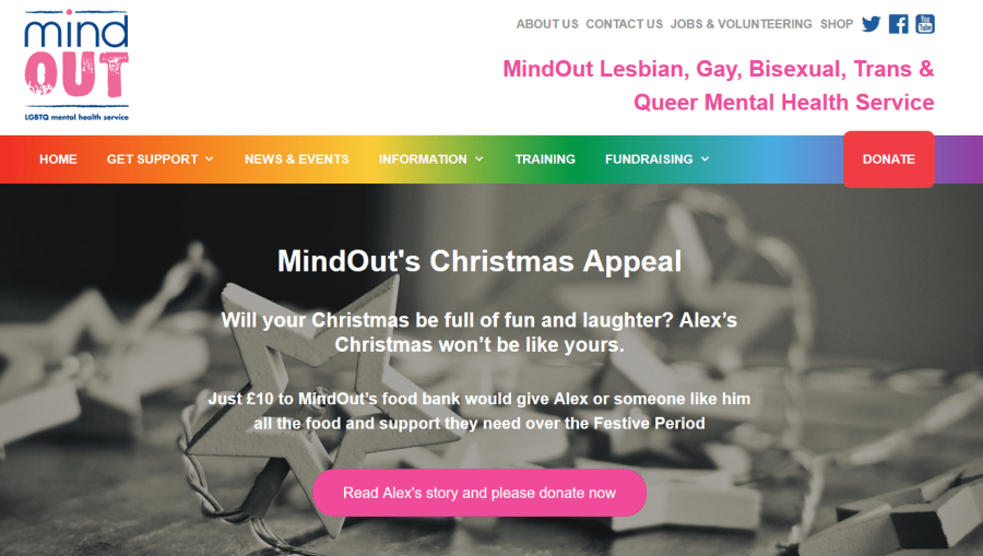 lgbt charity mind out