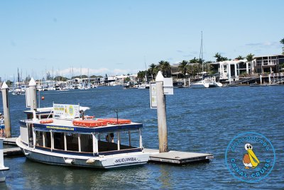 Mooloolaba Canal Cruise - The Boat
