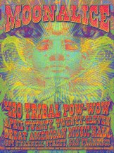 M363 › 4/20/11 Tribal Pow-Wow, Great American Music Hall, San Francisco, CA poster by Dave Hunter