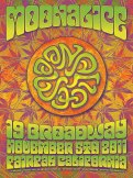 M429 › 11/5/11 19 Broadway, Fairfax, CA poster Dave Hunter