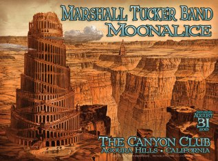 M633 › 8/31/13 The Canyon Club, Agoura Hills, CA poster by Chris Shaw