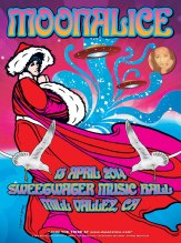 M674 › 4/13/14 Sweetwater Music Hall, Mill Valley, CA poster by Dennis Loren